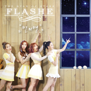 "Album art for Flashe's album ""The Star Of Stars"""