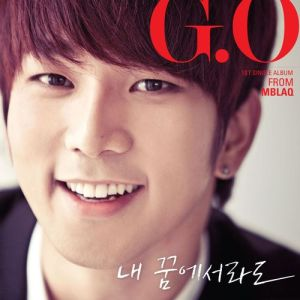 "Album art for G.O from MBLAQ's Album ""Even In My Dream"""