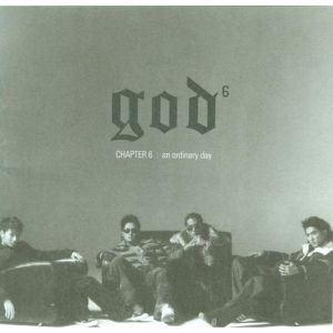 "Album art for g.o.d's album ""Oridnary Day"""