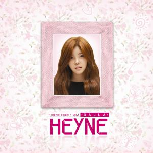 "Album art for Heyne's album ""I'm Different"""