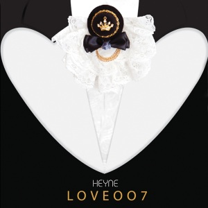 "Album art for Heyne's album ""Love007)"