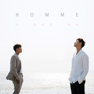 "Album art for HOMME's album ""Come To Me"""