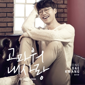 "Album art for Hong Dae Kwang's album ""The Silver Linning"""