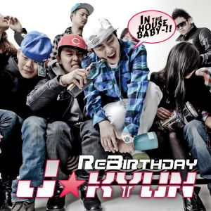 "Album art for J'Kyun's album ""Re Birthday"""