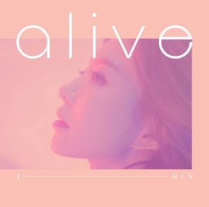 "Album art for J-Min's album ""Alive"""