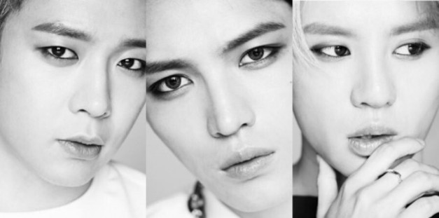 "JYJ's ""Just Us"" promotional picture."