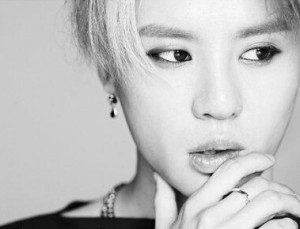 "JYJ's Junsu ""Just Us"" promotional picture."