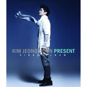 "Album art for Kim Jeong Hoon (John Hoon)'s album ""Present"""