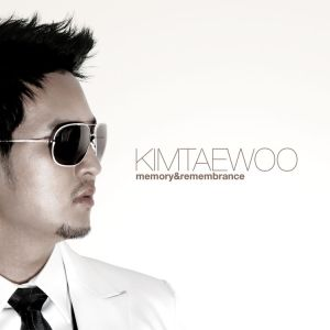 "Album art for Kim Taewoo from g.o.d's album ""Memories & Remembrance"""