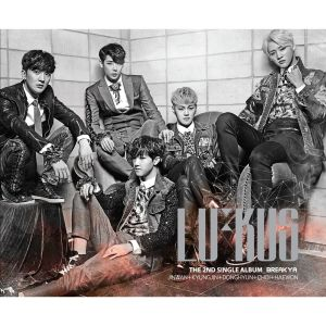 "Album art for LU:KUS's album ""Break Ya"""