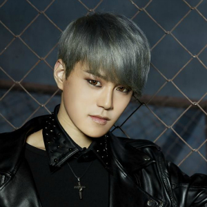 """Lukus' Kyungjin """"So Into U"""" promotional picture."""