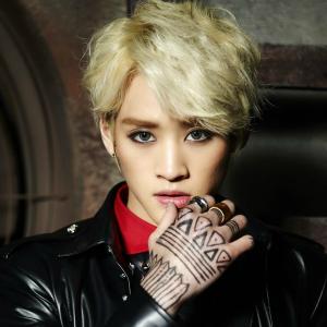 "Lukus' Jinwan ""So Into U"" promotional picture."