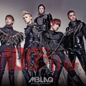 "Album art for MBLAQ's album ""100%"""