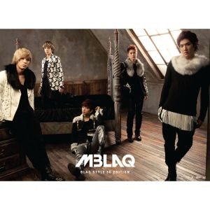 "Album art for MBLAQ's album ""Blaq Style 3D Edition"""