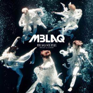 """Album art for MBLAQ's album """"Blaq Style"""""""