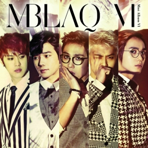 "Album art for MBLAQ's album ""Broken"""