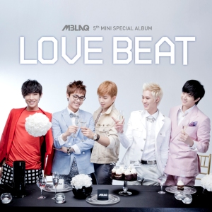 "Album art for MBLAQ's album ""Love Beat"""