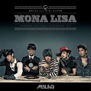 "Album art for MBLAQ's albm ""Mona Lisa"""