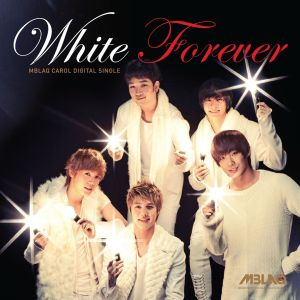 "Album art for MBLAQ's album ""White Forever"""