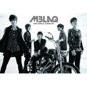 "Album art for MBLAQ's album ""Y"""