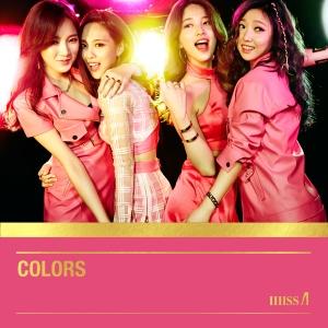 "Album art for Miss A's album ""Colors"""