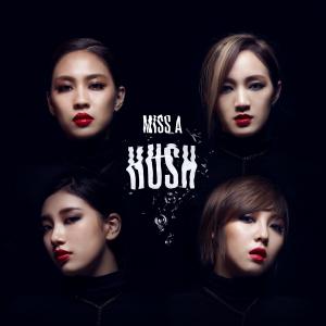 "Album art for Miss A's album ""Hush"""