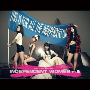 "Album Art for Miss A's album ""Indepedent Woman Pt. 3"""