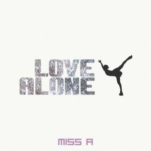 "Album art for Miss A's album ""Love Alone"""