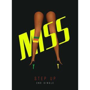 "Album art for Miss A's album ""Step Up"""