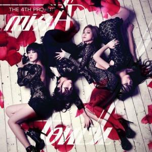 "Album art for Miss A's album ""Touch"""