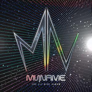 Alburm art for MYNAME's 1st Mini Album