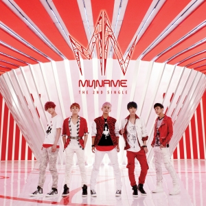 Album art for MYNAME's 2nd Single Album