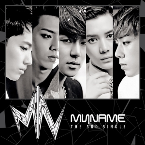 Album art for MYNAME's 3rd Single Album