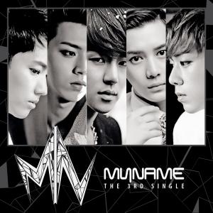 Album art for MYNAME's 3rd Single Album