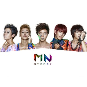 "Album art for MYNAME's album ""Message"""