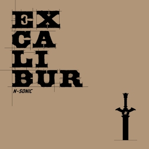 "Album art for N.Sonic's album ""Excalibur"""