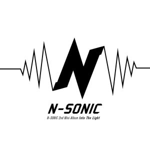 "Album art for N.Sonic's album ""Into The Light"""