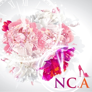 "Album art for NC.A's album ""Cinderella Time"""