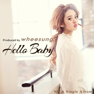 "Album art for NC.A's album ""Hello Baby"""