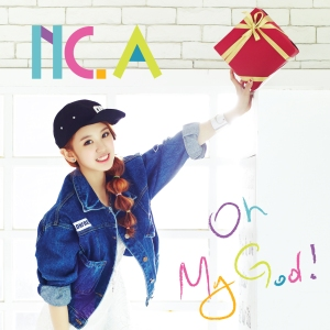 "Album art for NC.A's album ""Oh My God"""