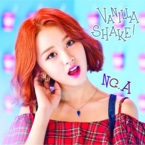 "Album art for NC.A's album ""Vannila Shake"""