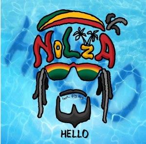 "Album art for Nolza's album ""Hello"""