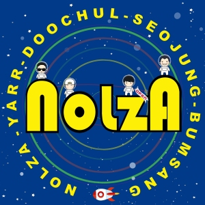 "Album art for Nolza's album ""No. 4"""