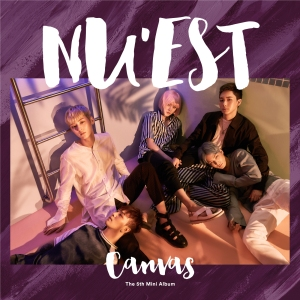 "Album art for NU'EST's album ""Canvas"""