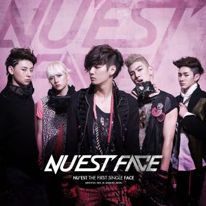 "Album art for NU'EST's album ""Face"""
