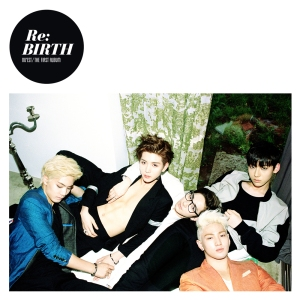 "Album art for NU'EST's album ""ReBirth"""