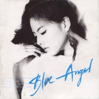 "Albuma art for Park Ji Yoon's album ""Blue Angel"""