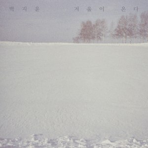 "Album art for Park Ji Yoon's album ""Winter"""