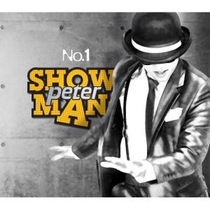 "Album art for Peter's album ""Showman"""