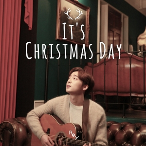 "Album art for Roy Kim's album ""It's Christmas Day"""